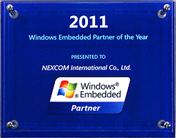 NEXCOM Recognized as Windows Embedded Partner