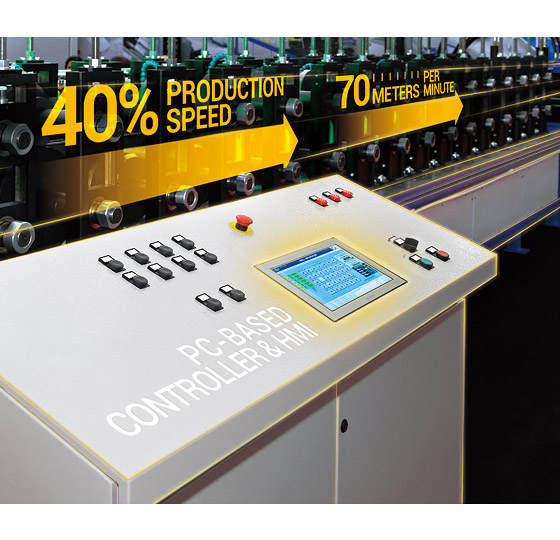 EtherCAT-Enabled Panel PC Rises Production Speed by 40% with Simplified System Architecture