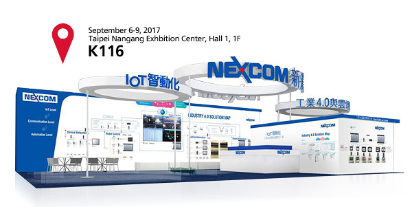 NEXCOM, Rising Star on Intelligent Robot Solution